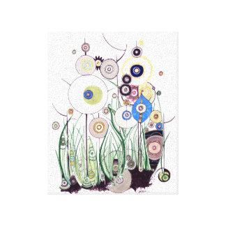 Garden Bramble canvas Stretched Canvas Print