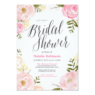 Garden Bridal Shower Invitation