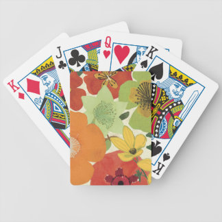 Garden Brights Bicycle Playing Cards