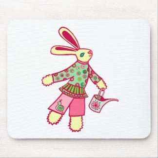 Garden Bunny Mouse Mat