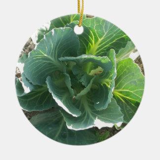 Garden Cabbage Christmas Ornament