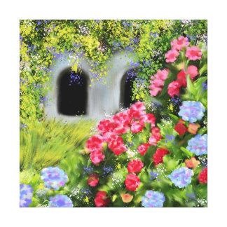 garden canvas prints