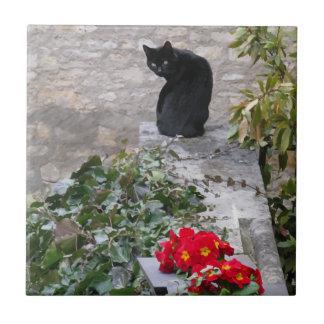 Garden Cat Tile