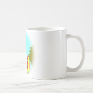 Garden Cats Basic White Mug
