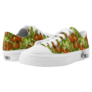 Garden Cherry Tomatoes Nature Pattern Printed Shoes