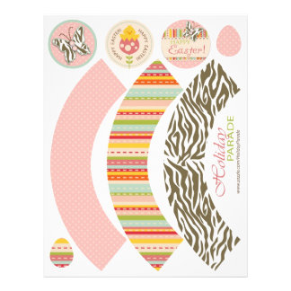 Garden Chick Cupcake Wrappers 2 21.5 Cm X 28 Cm Flyer