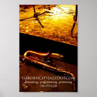 Garden City Jazz 2008 Promo poster