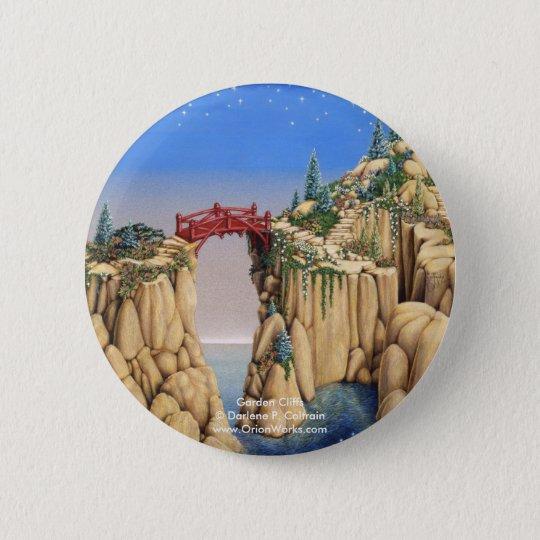Garden Cliffs, Garden Cliffs Darlene P. Coltra... 6 Cm Round Badge
