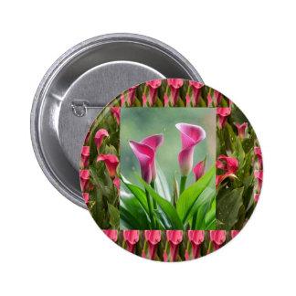 GARDEN Collage : Beautiful Flowers 6 Cm Round Badge