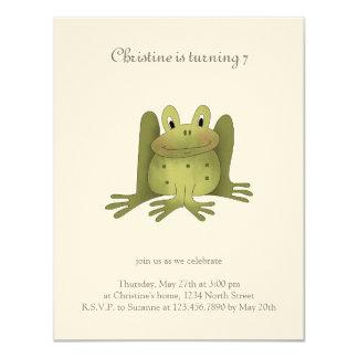 Garden Collection · Frog Card