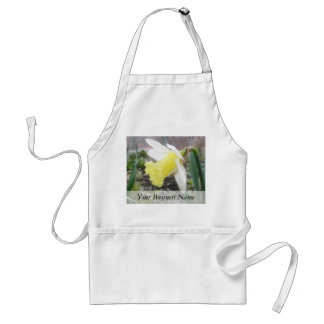 Garden Daffodil In Early Spring Adult Apron