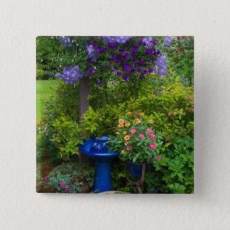 Garden designs in our Garden Sammamish, 2 15 Cm Square Badge