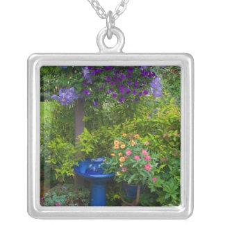 Garden designs in our Garden Sammamish, 2 Silver Plated Necklace