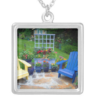 Garden designs in our Garden Sammamish, 4 Silver Plated Necklace