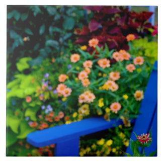 Garden designs in our Garden Sammamish, Large Square Tile