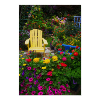 Garden designs in our Garden Sammamish, Poster
