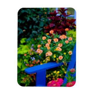 Garden designs in our Garden Sammamish, Rectangular Photo Magnet