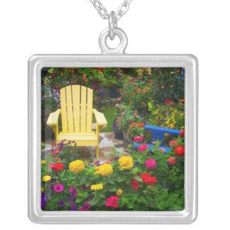 Garden designs in our Garden Sammamish, Silver Plated Necklace