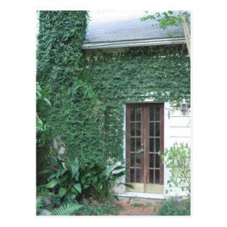 Garden Door ©2008 Postcard