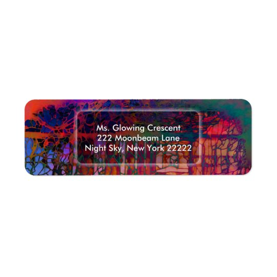 """Garden Dream"" Return Address Labels"