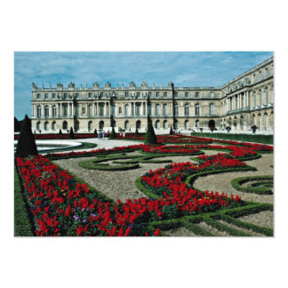 Garden facade, view from beyond South Parterre, Pa 13 Cm X 18 Cm Invitation Card