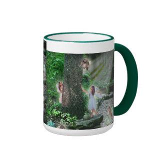 Garden Fairies Ringer Mug