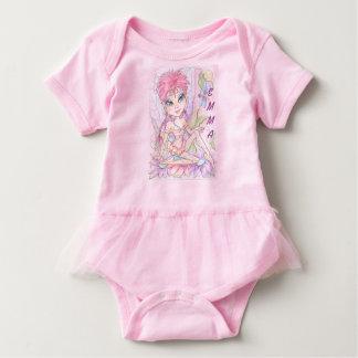 Garden Fairy Baby Tutu Bodysuit