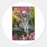 Garden Fairy.jpg Round Sticker