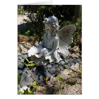 Garden Fairy Notecards (Blank Inside) Card