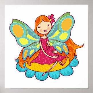 Garden Fairy Print