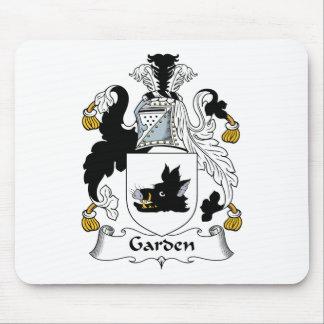 Garden Family Crest Mouse Mat