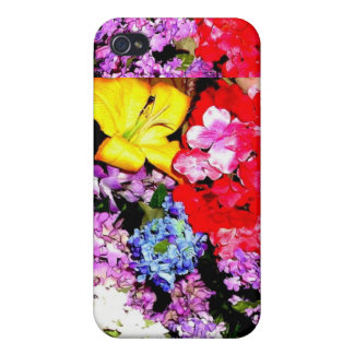 GARDEN FLORAL iPhone 4/4S CASES