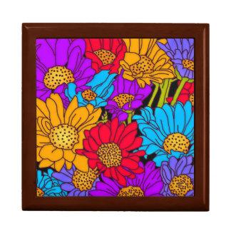 Garden Floral Tile Gift Box