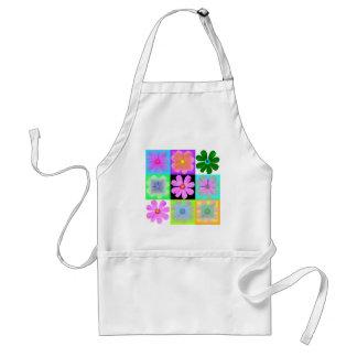 Garden Flower-9-apron Standard Apron