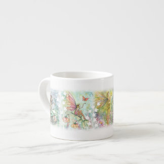 Garden Flower Fairies Espresso Cup