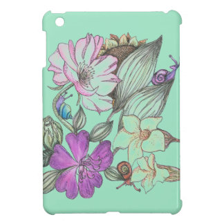 garden flowers i pad mini case cover for the iPad mini