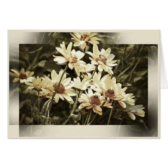 Garden Flowers Note Card