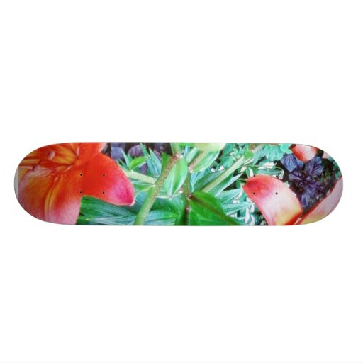 Garden Flowers Skate Boards