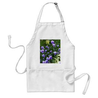 Garden flowers standard apron