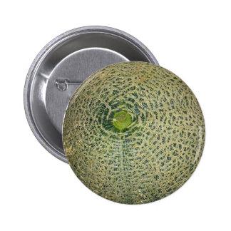 Garden Fresh Cantaloupe 6 Cm Round Badge
