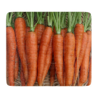 Garden Fresh Heirloom Carrots Cutting Board