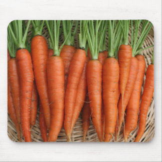 Garden Fresh Heirloom Carrots Mouse Mat