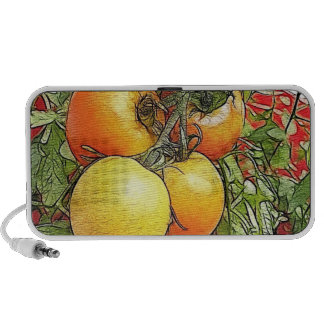 Garden Fresh Heirloom Tomatoes iPod Speakers