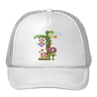 Garden Friends Pixel Art Cap
