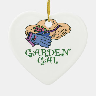 Garden Gal Christmas Ornament