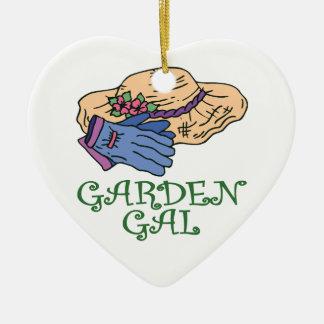 Garden Gal, Gardener's Christmas Ornament