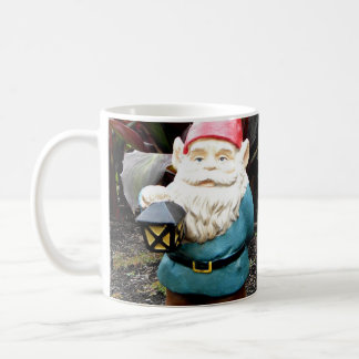 Garden Gnome Basic White Mug