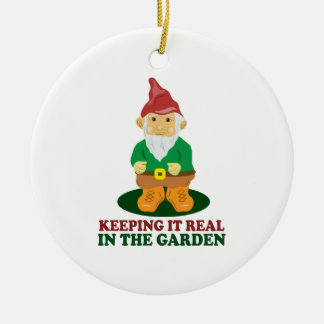 Garden Gnome Christmas Tree Ornaments
