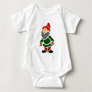 Garden gnome dwarf guards of gnomes baby bodysuit