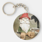 Garden Gnome Key Ring